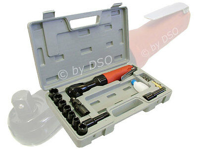 Compressor Air Tool Kit 17 pc 1/2 Air Ratchet Wrench Socket Set Pneumatic Wrench