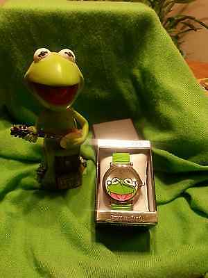 """KERMIT THE FROG EXPANSION BAND WATCH"" - WOW!! - GREAT BUY~BRAND NEW IN BOX~"