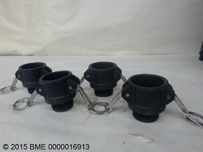"""Lot Of 3, Quick Couplers, 1-1/2"""" X 1-1/2"""" Made Pipe Threads,"""