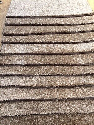 12x heavy domestic brown  STAIR PADS /TREADS BN CHEAP *stock clearance* #1242