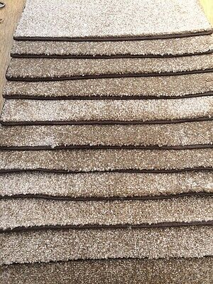 18 INCHES (45cm) wide BROWN STAIR PADS /TREADS BN CHEAP *stock clearance* #1242