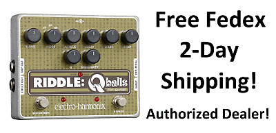 New Electro-Harmonix EHX Riddle Q Balls Envelope Filter Guitar Effects Pedal!
