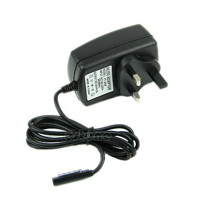 UK Plug Power Adapter Wall Travel Charger for Microsoft Surface RT Tablet PC