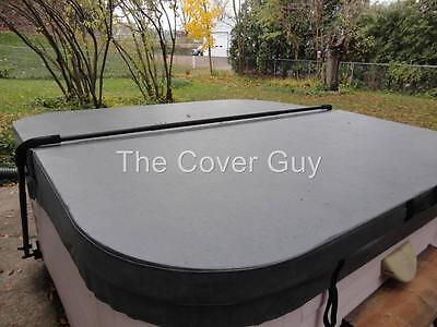 """The Cover Guy Deluxe 5"""" tapered Custom Made Spa Hot Tub Cover with 7 yr Warranty"""