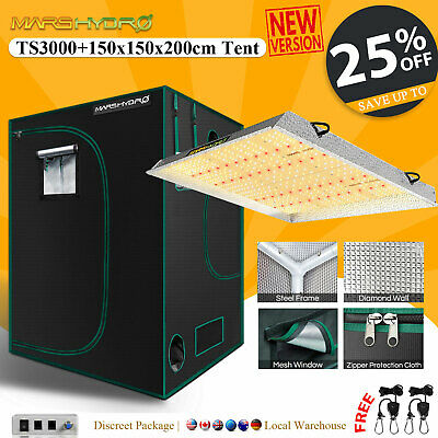 Mars Hydro Reflector 720W Full Spectrum Led Grow Light Indoor Plant Veg Flower