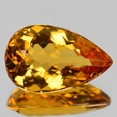 AMAZING 6.45 Cts TOP QUALITY GOLDEN YELLOW COLOR NATURAL BERYL  REFER VIDEO
