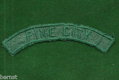 VINTAGE GIRL SCOUT TOWN STRIP ROCHESTER-GENESEE COUNCIL