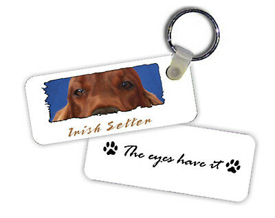 Irish Setter  The  Eyes Have It   Key  Chain