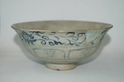 Rare sample of Yuan dynasty blue and white large bowl