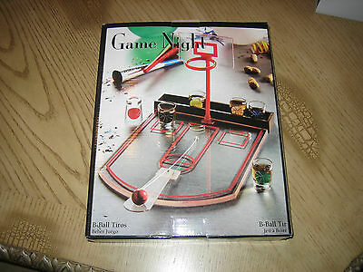 Game Night B-Ball Shots Drinking Game-Brand New Still in Box