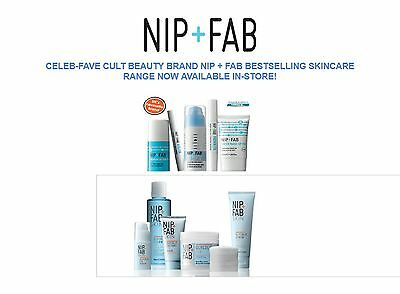 NIP + FAB Skincare FIX Glycolic Bee Dragons Pads Cleanser Scrub Mask Serum Etc.