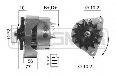 Alternatore 14V 55Ah Mercedes-Benz 190 (W201) E 2.0 (201.024) Kw 90  /2