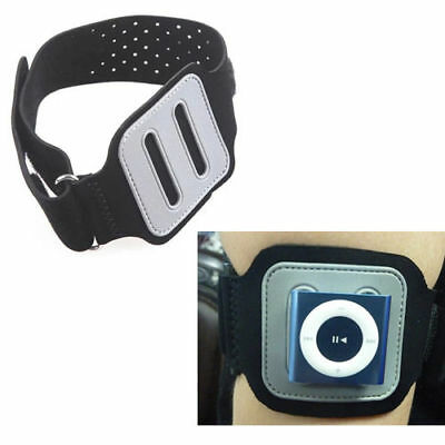 For Apple ipod nano 6 ipod shuffle 4/6/7 Black Sport Running Gym Armband Case
