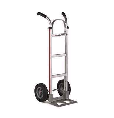 "Magliner Aluminum Hand Truck with 10"" Semi Pneumatic Tires"