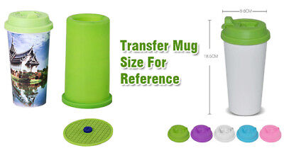 3D Sublimation Silicone Mold, Heat Transfer Straight Cup Mugs Clamp