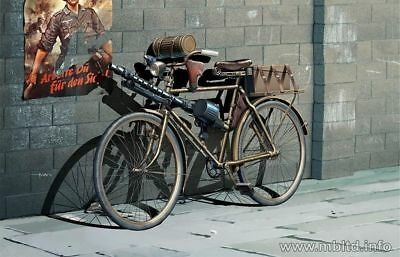 German Military Bicycle, Wwii Era 1/35 Master Box 35165