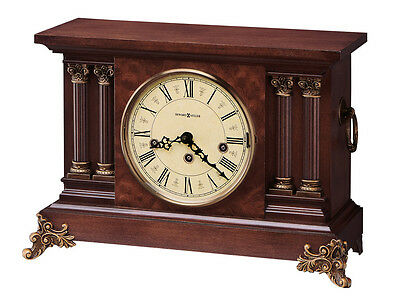 630-212 Circa - Howard Miller   Mantel Clock  In American Cherry Finish