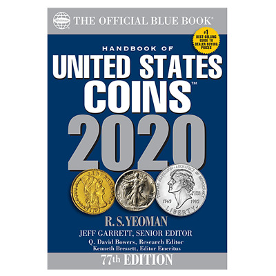 2018 BLUE BOOK - Handbook + Price Guide of U.S. Coins - WHITMAN
