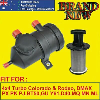 Pro 200 Oil Catch Can fit Ford Patrol ZD30 D40 Landcruiser Hilux D4D Turbo 4WD