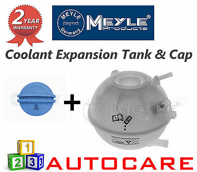 Audi VW Meyle Coolant Expansion Reservoir Tank & Cap 1001211064/1002380002