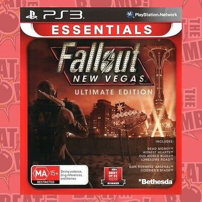 Fallout New Vegas Ultimate Edition  - PlayStation 3 game - BRAND NEW