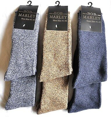 New 5 PAIRS MENS COTTON HEAVY DUTY HIKING WALKING WORK SOCK SIZE 7-11