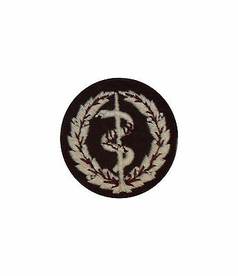 Small Regt Medic Assistant/first Aid Instructor Badge  - Grade 1 Sp753