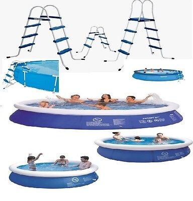 Inflatable Large Swimming Paddling Pool ,2 Step, 3 Step ,4 Step Pool Ladder