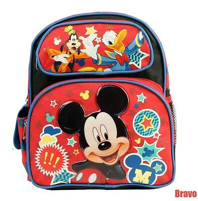 6e5d429960 Disney Mickey Mouse   Friends 12 Inches  Boy s Medium Size  Toddler Backpack  USA