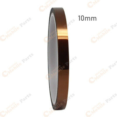10mm x 100ft High Temperature Heat Resistant Kapton Tape Polyimide BGA