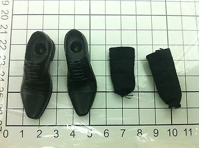 1/6 hot toys The Wolverine ( MMS220 - black shoes + socks