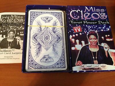 NEW SEALED Miss Cleo's Tarot Power Deck tarot cards