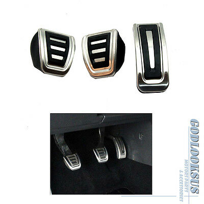 VW Sports Pedal Cover Set For Golf MK4 Jetta MK4 Bora POLO MT For LHD NEW
