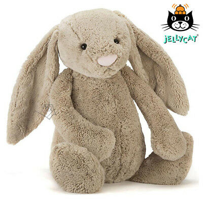 NEW Jellycat REALLY BIG 73cm Bashful Beige Bunny Plush Toy Rabbit Biggest Avail