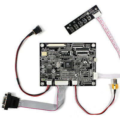 VGA AV LCD Driver Board work for 10.4inch A104SN03 LSA40AT9001 800x600 LCD Panel