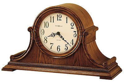 "630--152 ""hillsborough"" Mantel Clock In Oak - Howard Miller Clock Company"