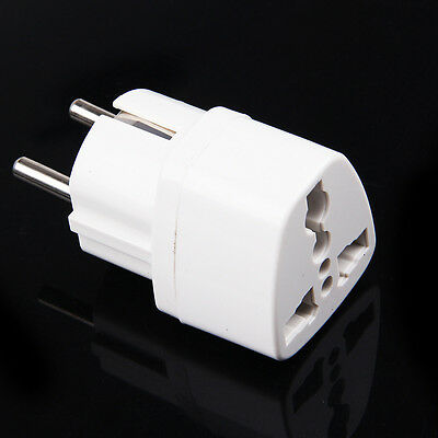 Reisestecker Steckdosenadapter AC Strom Adapter USA UK England Deutschland EU