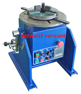 200kg Welding automatic positioner mig Tig welder positioner machine +Jaw Chuck