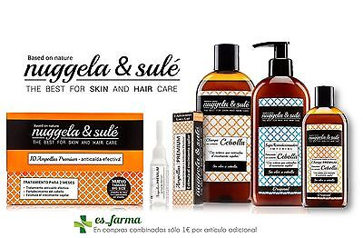 Nuggela & Sule Anticaida Hair Loss Ampollas Acondicionador Champu Onion Cebolla