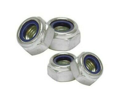UNF Nyloc Locking Nylon Insert Nuts 3/16 1/4 5/16 3/8 7/16 1/2 5/8 3/4 Imperial