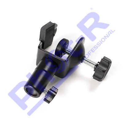 Phot-R Photo Studio C Clamp Clip 5/8 Stud Spigot for Light Stand Boom Arm Pole