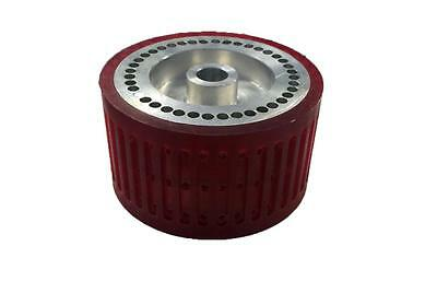 Vacuum Wheel Stahl Wide Urethane Coated Bindary Parts Feeder Parts offset parts