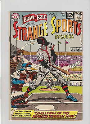 Lot of 5 The Brave and the Bold 45, 46, 47, 48, 49 VG- Strange Sports