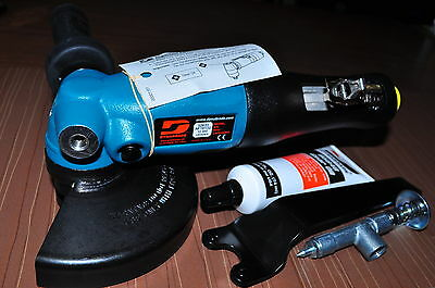 """Dynabrade 52633 5"""" (127 mm) Dia.Air Right Angle Depressed Center Wheel Grinder"""