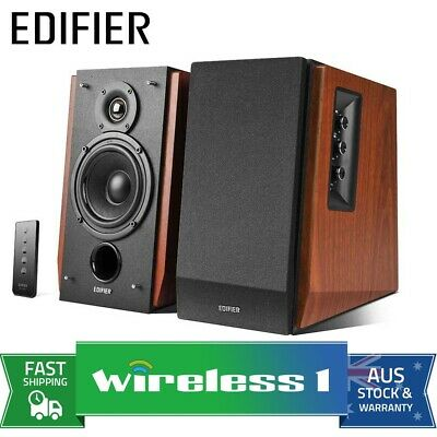 Brand New Edifier R1700BT - 2.0 Lifestyle Studio Bluetooth Speakers 66W RMS - Br