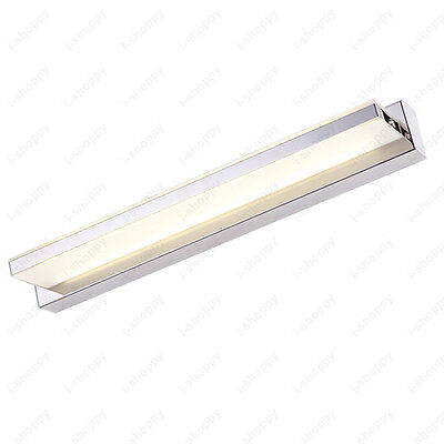 7W LED Acrylic Mirror Front Makeup Lamp Wall Fixture Light Washroom Living Room