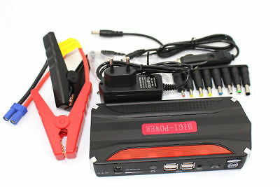 68800mAh 12V Car Jump Starter Auto Mobile Power Bank 4 USB Battery Charger New