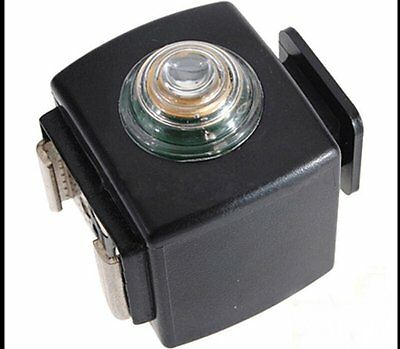 SYK-3 Hot Shoe Adapter Remote Optical Slave Flash Trigger For Nikon Yongnuo Sony