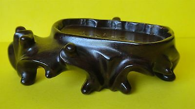Chinese Antique Hand Carved Rosewood Jade Stand