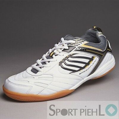 Donic Speedflex II Table tennis shoe Indoor shoes White Anthracite Yellow 310202